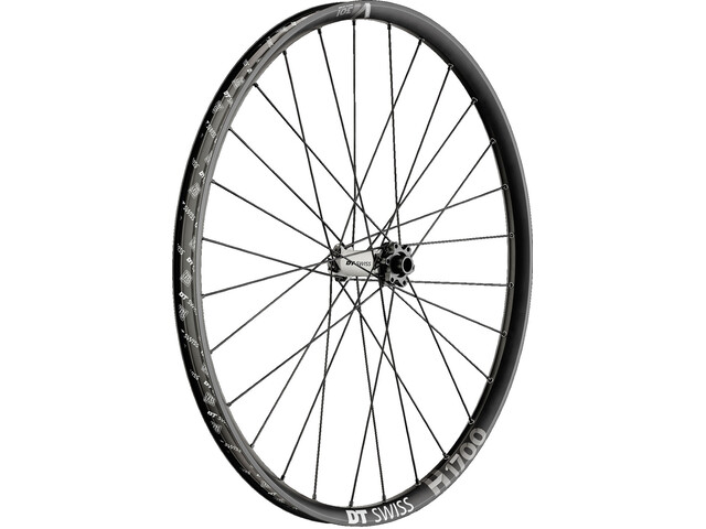 "DT Swiss H 1700 Spline Etupyörä 27,5"" Hybrid Boost 30mm, black"